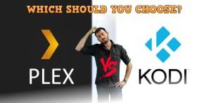 Plex vs KODI for your media on a NAS or Media Server