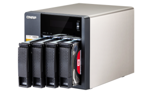 Swap the Drives from your old NAS to the new QNAP TS-853A-4G to save money