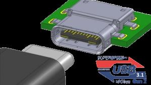 USB 3.1 Gen 2 via a USB Type C port
