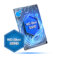 WD Blue 3.5 SSHDInch