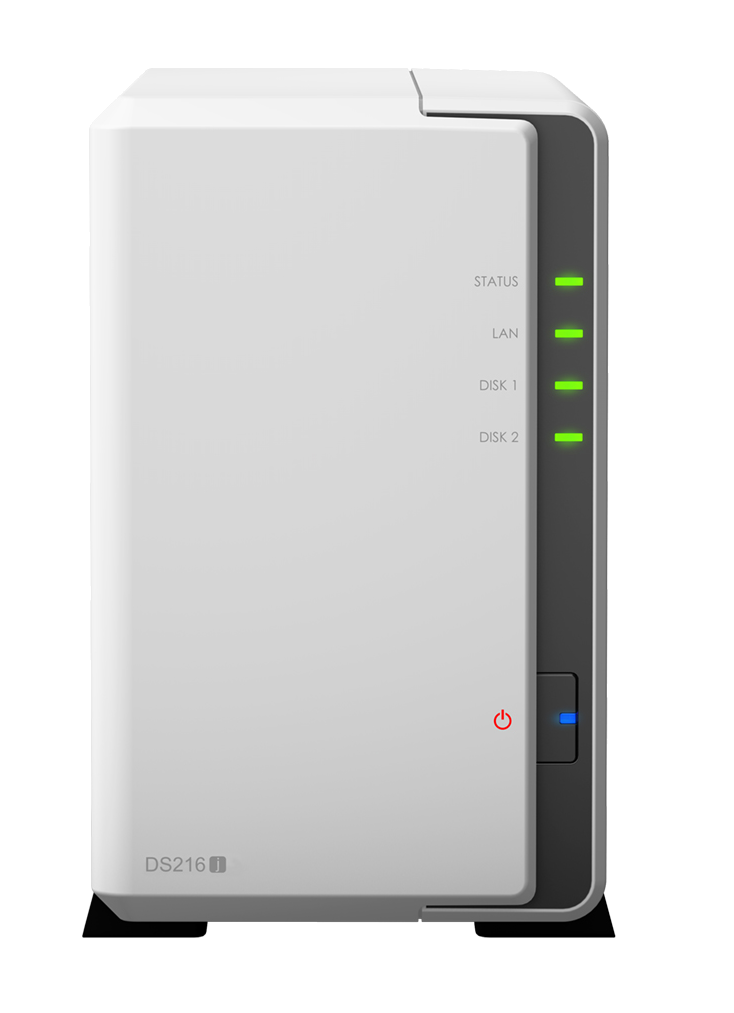 Synology DS216J Budget NAS for Cost Effective Network Attached Storage Users