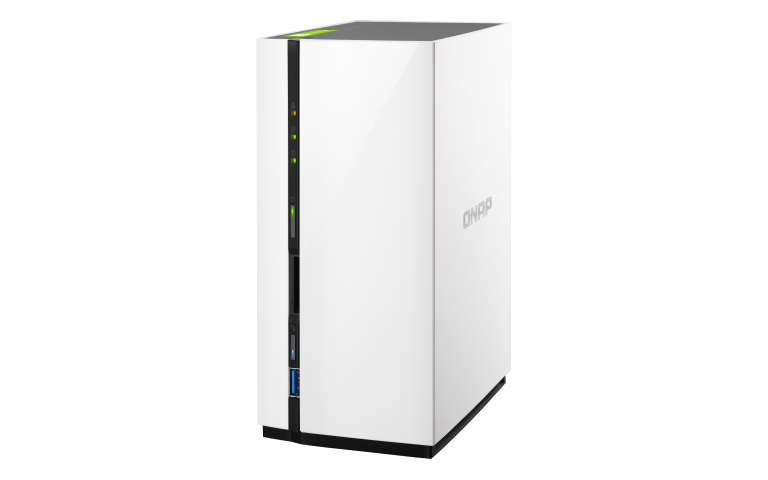 The QNAP TS-228 NAS for Cost Effective NAS support, backups, home media and network backup with USB 3.0 2