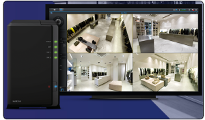 7. Synology NVR Server NVR216 Synology Surveillance NAS HDMI Deck