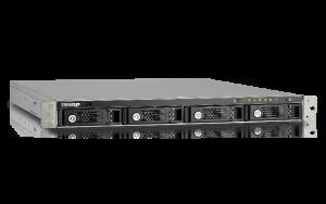 The QNAP TS-431U-1G Rackmounted NAS 4-Bay Small enterprise 1U NAS enclosure from QNAP3