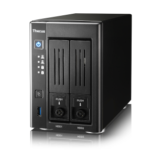 Thecus N2810 4k hOME nas 2-bay 2016 1