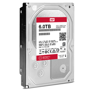 WD RED 6TB PRO Drive HDD for NAS