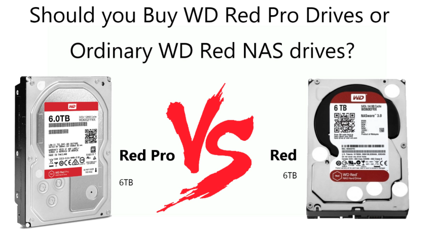 8 GB NAS 8 TB 4 x 2 TB WD Red Pro Synology DS920