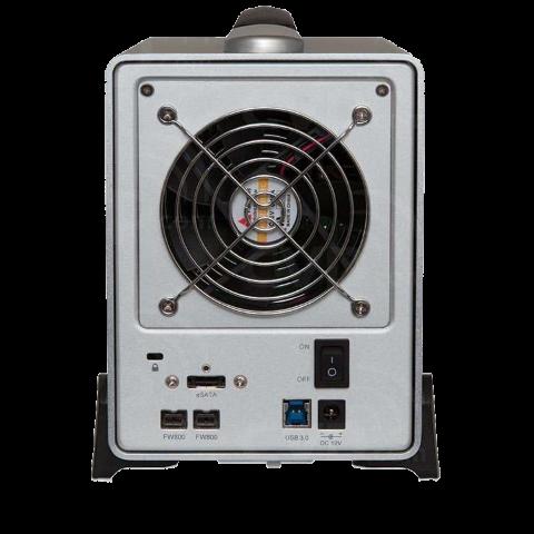 The Sonnet Fusion QR 4-Bay DS400 Unboxing, Walkthrough and Talkthrough 1