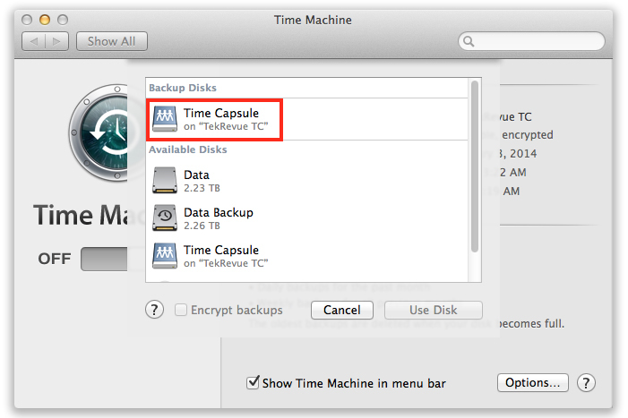 The Apple Time Capsule Versus the Apollo Personal Cloud Storage - The Apple Time Machine NAS Faceoff 8