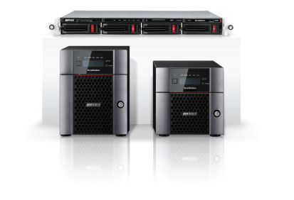 The TeraStation 5210DN and 5210DN NAS server for home and business 2