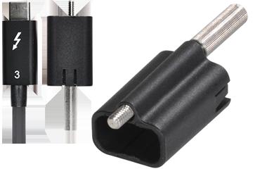 Sonnet Echo Express SEL Thunderbolt 3 ThunderLok PCIe Card for MacBook Pro ECHO-EXP-SEL-T3
