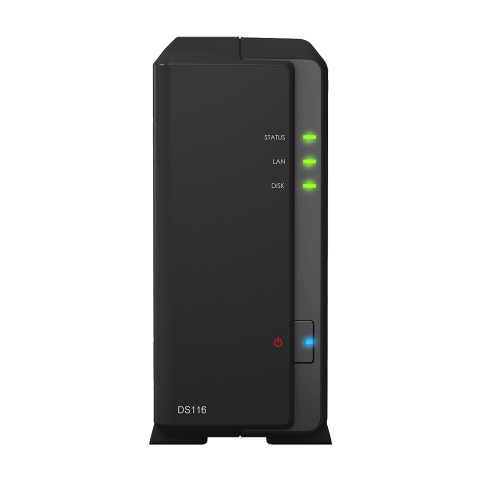 The Synology DS116 1-Bay NAS Unboxing, Walkthrough and talkthrough 1