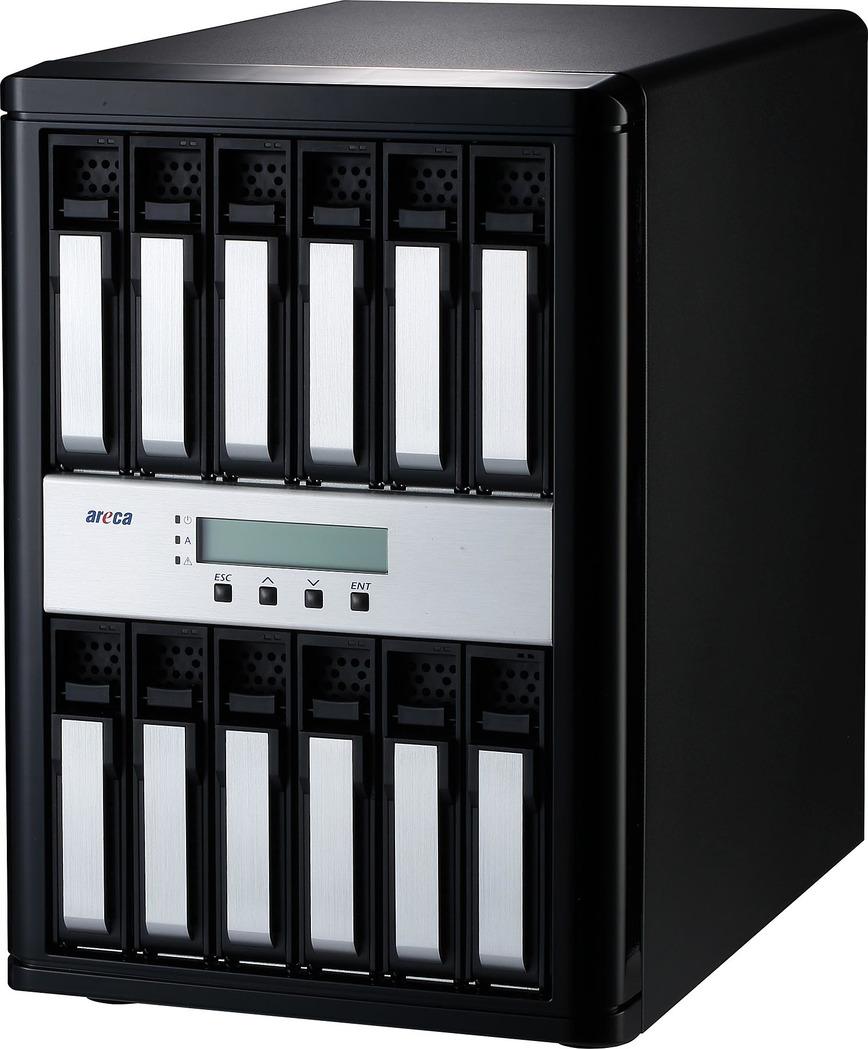 Areca ARC-8050T3-12 Thunderbolt 3 RAID