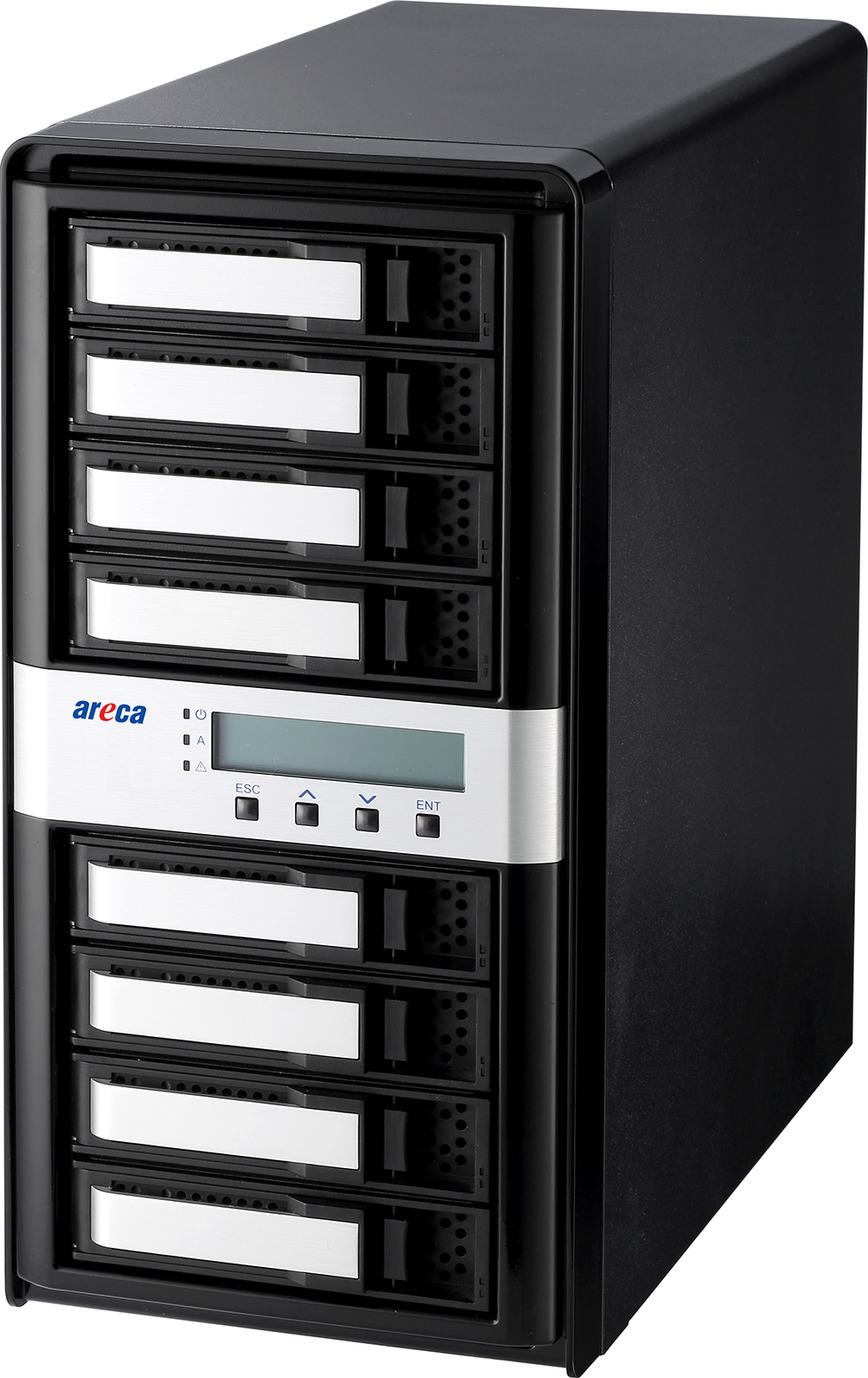 Areca ARC-8050T3-8 Thunderbolt 3 RAID