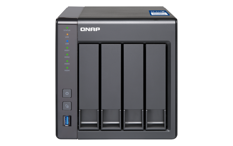 The QNAP TS-431X-2G 10GbE NAS 4-Bay Unboxing and Walkthrough 1