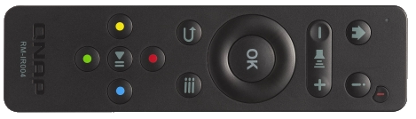 new qnap remote control for NAS via HDMI IR
