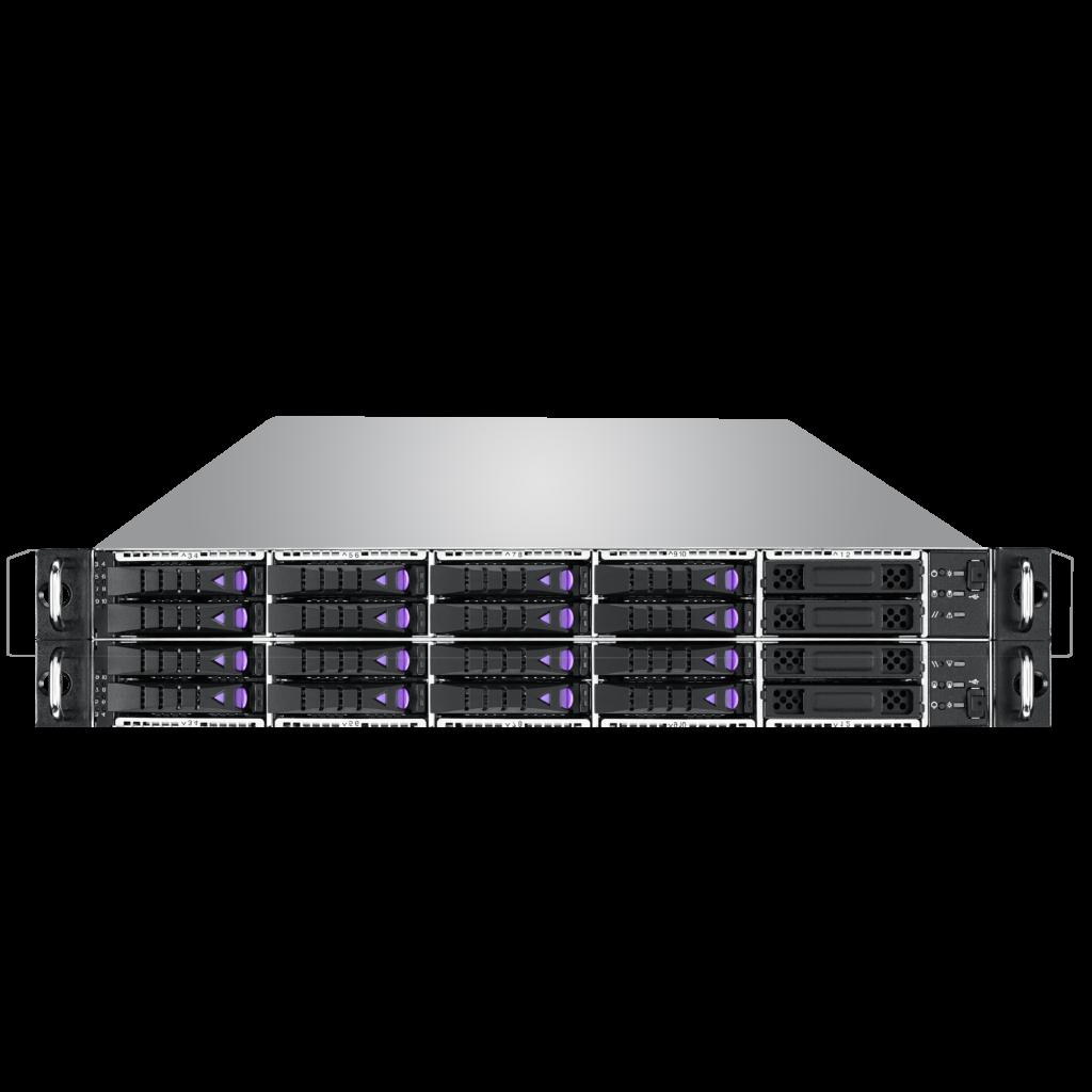 Thecus LightningPRO SE300 Flash NAS Rackmount_front_open