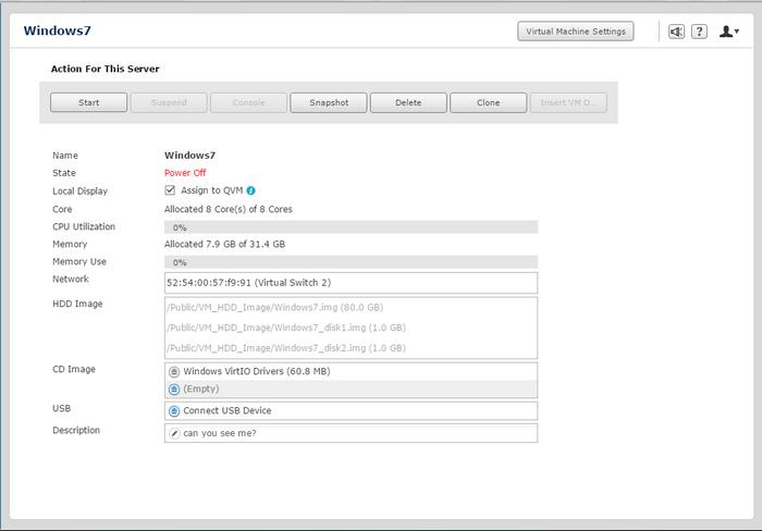 QNAP NAS VM Create 6
