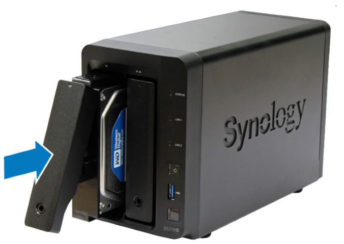 Synology DiskStation DS718+ - A Hardware Installation Guide Part 8