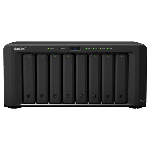 The Synology DS1817 8-Bay NAS 10GbE RJ45 Business Class RAID File Server Unboxing and Walkthrough 1