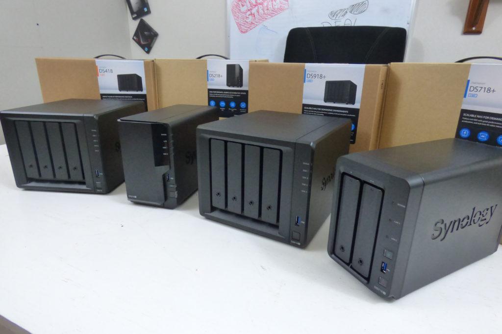 DS718+ DS918+ DS218+ DS418 Range 2