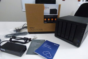 Synology DS418 NAS Unboxing