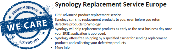 SRS Synology Replacement Service