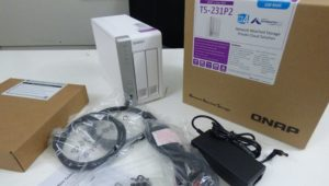 Unboxing the QNAP TS-231P2 2-Bay Cost Effective NAS for Home and Business 2