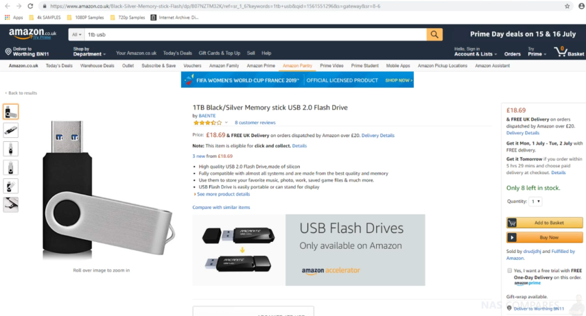 Is The Cheap Usb 2 0 512gb 1tb And 2tb Usb Flash Stick Worth Your Money Nas Compares